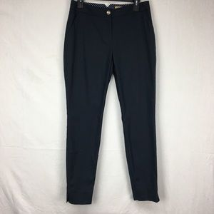 Ted Baker Navy Aayat Tailored Trousers